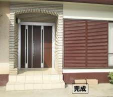 宮崎花屋 玄関完成 2
